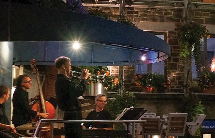 La musique jazz anime le Jardin Nelson!
