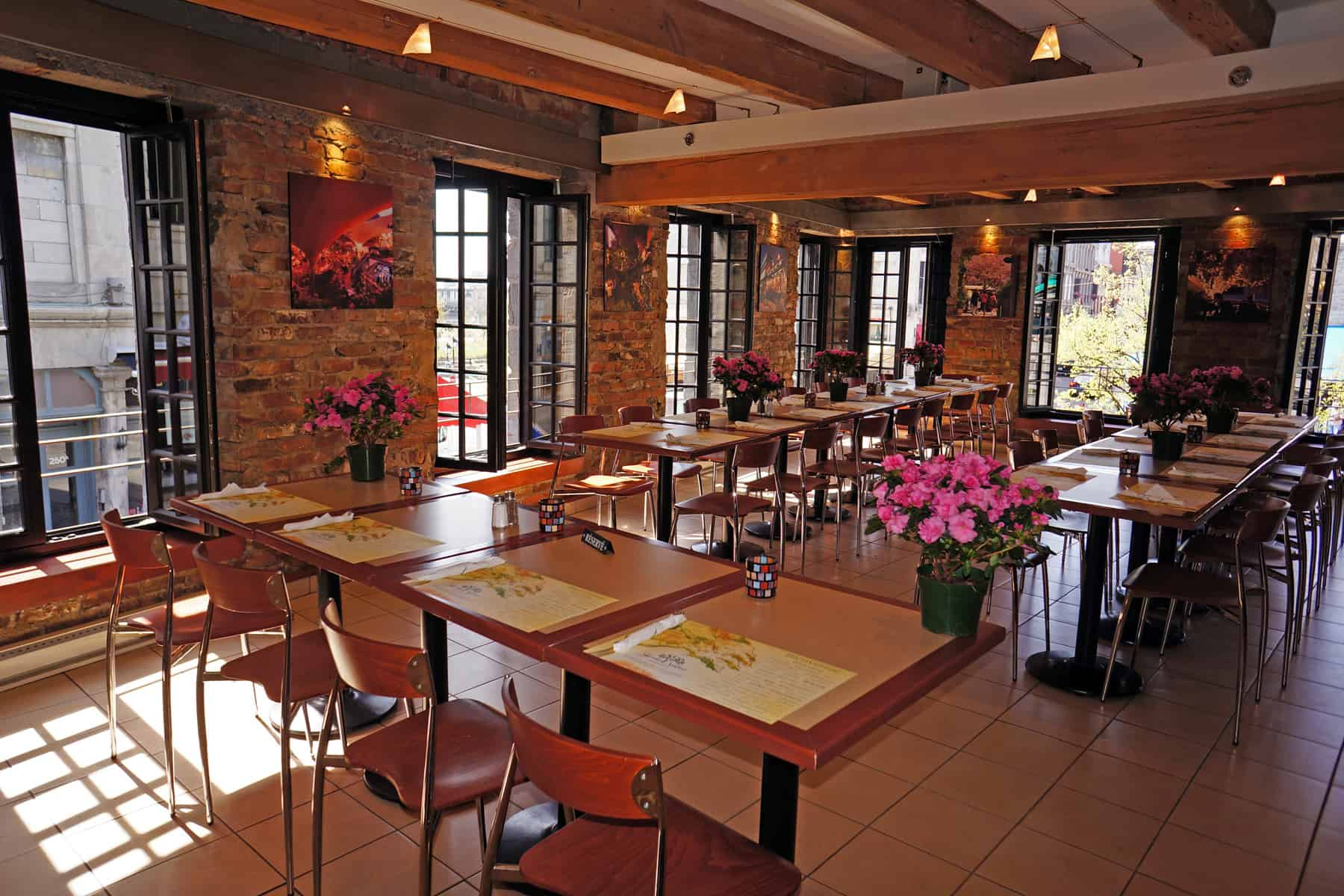 Salle cartier jardin nelson for La salle a manger montreal menu
